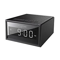 Creative Chrono Powerful Bluetooth Speaker with FM Radio and Alarm Clock - Black