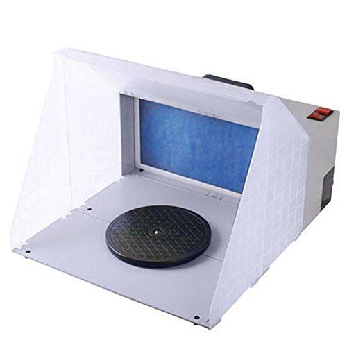 SPEED Airbrush Zubehör Absauganlage 3m³/min Farbe Filter Farbnebel W420 Komplett Set für Farbnebel Außenluft Ersatzfilter