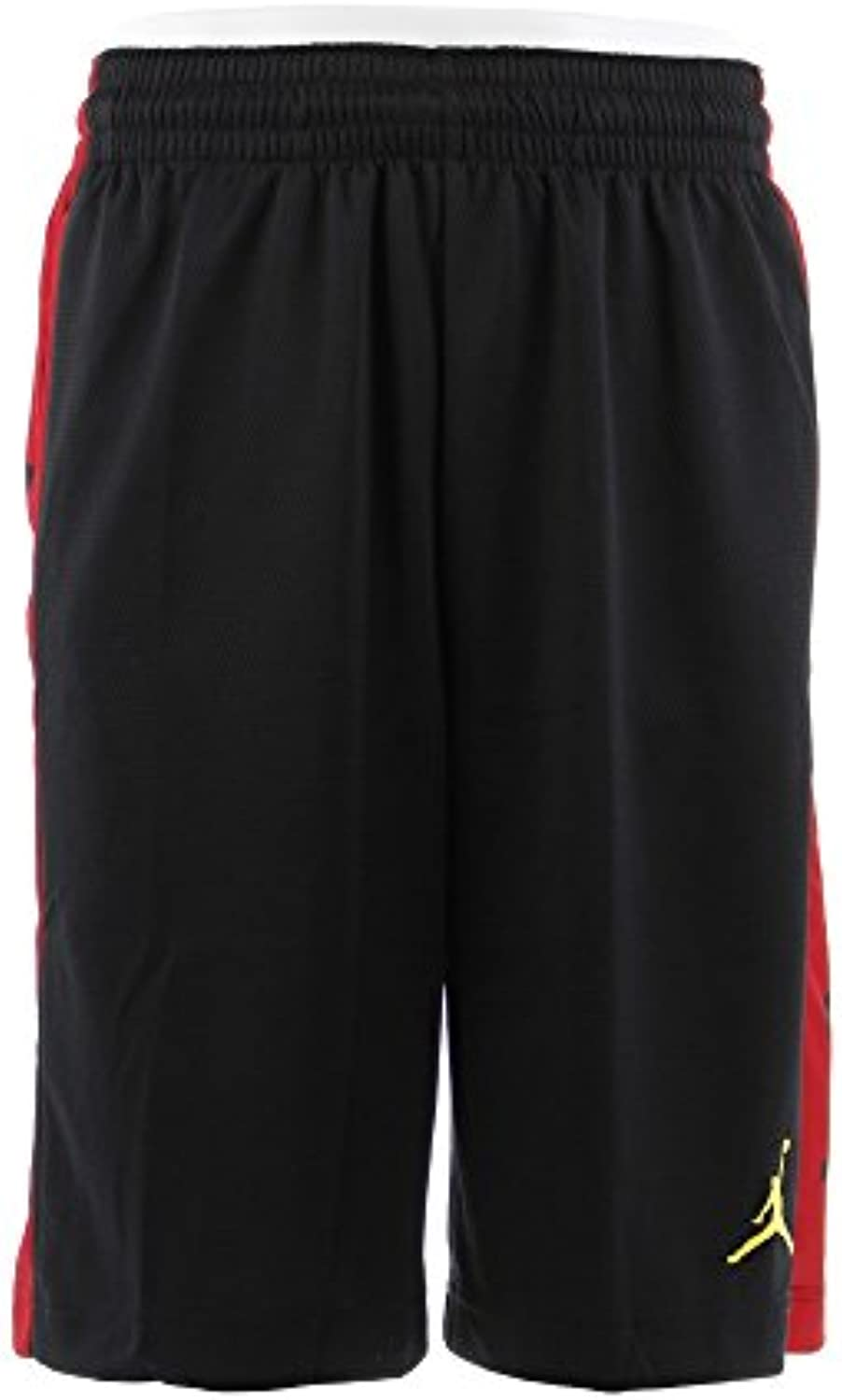 Nike Rise Graphic, Pantalones Cortos para Hombre, Hombre, 888376 011, Nero/Gym Red/Gym Red/Tour Yellow, X-Large
