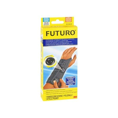 Futuro Schiene (FUTURO CustomDial Handgelenk-Schiene li.alle Größ. 1 St Bandage)
