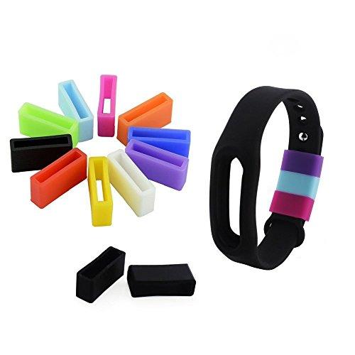 NEO+ UK 10x Silikon Schrauben für MI Xiaomi Band-Fix der Verschluss beim herunterfallen Problem-Sicher die das Armband in Style. -