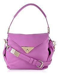 Viari Riviera Handbag (Radiant Orchid)