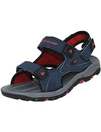 Dunlop Mens Sports Sandals Velcro Walking Hiking Trail Open Toe Beach Shoes
