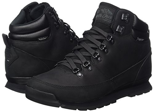 The North Face Men's Back-to-Berkeley Redux Leather High Rise Hiking Boots, Black (Tnf Black/Tnf Black Kx8), 9 UK (43 EU)