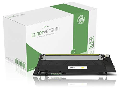 Toner kompatibel zu Samsung CLT-Y406S Gelb Druckerpatrone für CLP 360 365 Xpress C410w C460w C460fw CLX 3300 3305 Laserdrucker -