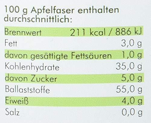 manako Apfelfaser Dose Ballaststoffe PREBIOTIC, 500 g Dose (1 x 0,5 kg)