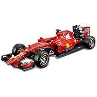 Ferrari - Racing Formula 1 de Vettel, vehículo (Bburago 18-26801)