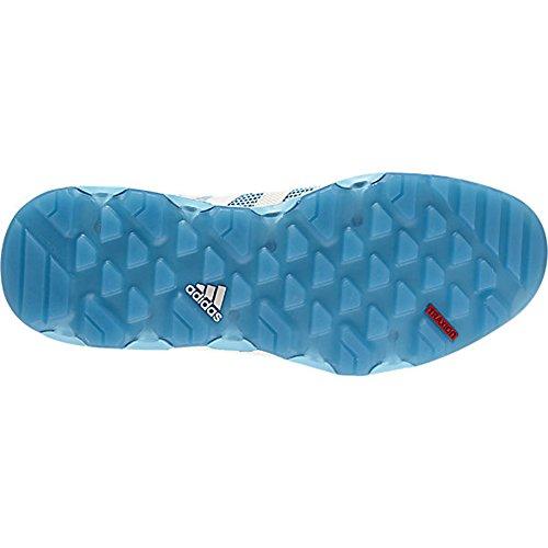 Adidas ClimaCool S78565 Voyager scarpe, bagliore blu / gesso bianco / shock Blu - 4,5 BLUE GLOW/CHALK WHITE/SHOCK BLUE
