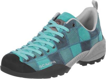 Scarpa Mojito Patchwork W chaussures de marche turquoise gris noir