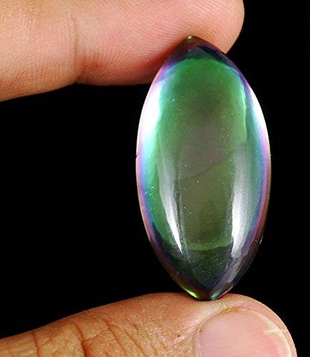 Banithaniexcellente superbe arc-en-topaze mystique étonnante belle pierre Multicolore (42.2Cts.)