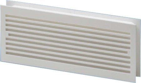 Kamin-gitter-türen (Maico 1895727 Türlüftungsgitter 275 x 105 mm, Kunststoff, MLK 30, weiß)