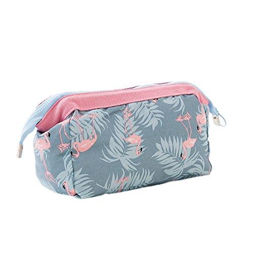 Gespout make up tasche e lavaggio a mano tasche multiuso di abbigliamento valigetta da viaggio portatile di archiviazione pacchetto sacchetto di immagazzinaggio borsa a mano borsa per cosmetici, cotone, 1#, 18*13*9cm