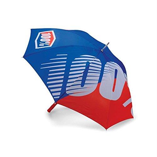 100% 70802-002-00 Regenschirm Premium, Blau/Rot
