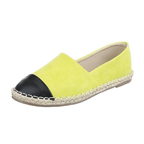 Chinelo Em Italiano Moderno top Bloco As Vendas Sapatos Sapatos Baixos Amarelo Baixo Design Femininos 51wnaq1xS