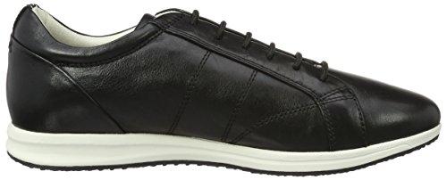 Geox D Avery A, Sneakers Basses Femme Noir (Blackc9999)