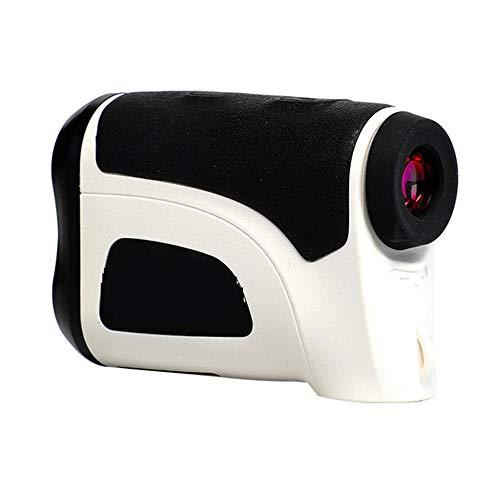 Huanyu Mini Abstand Laser Taschenwinkel Messwerkzeug Golf Monicular Laser IPX4 Wasserdicht (Weiß 800 m)