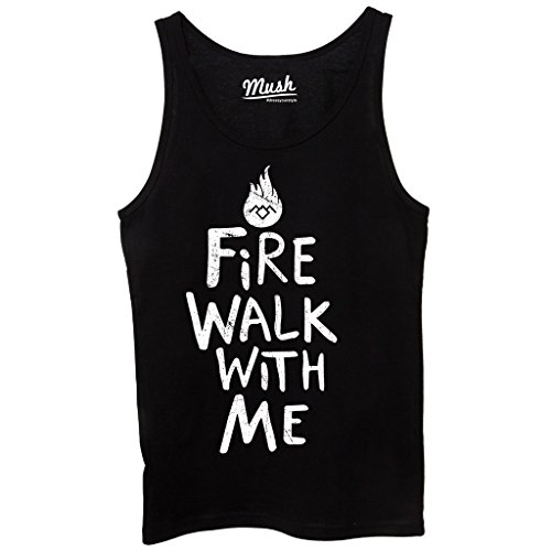 Canotta TWIN PEAKS FIRE WALK WITH ME - FILM by Mush Dress Your Style - Donna-S-Nera