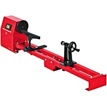 Einhell TC-WW 1000 - Torno de madera, regulable en 4 posiciones, distancia entre puntas 1 m, 350 W, 230 V, color rojo