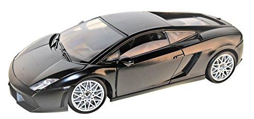 Lamborghini Gallardo LP560-4 Coupe Matt Schwarz 2003-2013 1/18 Motormax Modell Auto