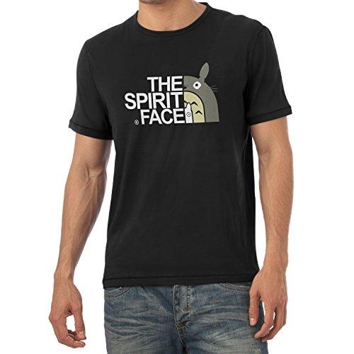 TEXLAB - The Spirit Face - Herren T-Shirt Schwarz