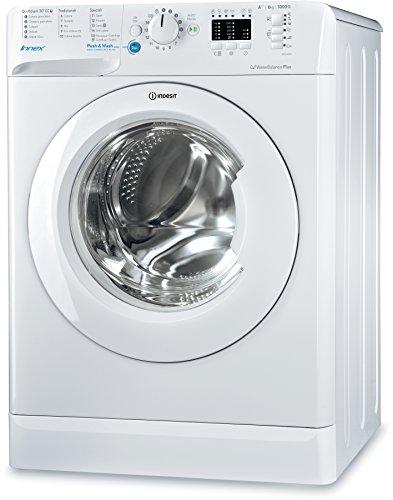 Indesit bwsa 61053W IT freistehend Frontlader 6kg 1000U/min A + + + Weiß Waschmaschine