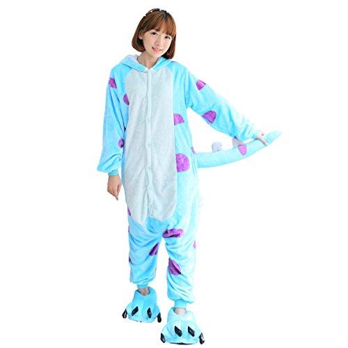 Cool&D Pyjama Schlafanzug Onesie Jumpsuits Hausanzug Flanell Kostüme -
