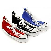 Home Fusion Company - Estuche, diseño de zapatilla tipo Converse, 25 x 8,