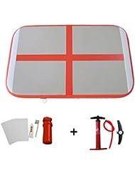 WMAOT Colchón Inflable de Estera para Gimnasia de Desporte al Aire libre (Air Box Air Board 1m*60cm*10cm)