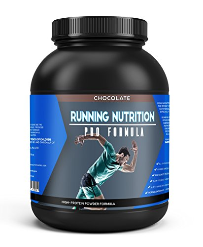 Sports Muscle Recovery | Protein Powder by Running Nutrition Pro Formula | All-in-One Sports Supplement | Perform Longer Recover Faster | Chocolate | 1.88 kg