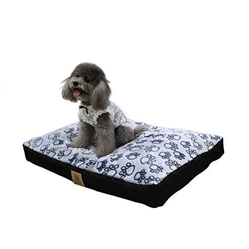 LOSY PET Cama Perro Impermeable Lavable 80 x 60 x