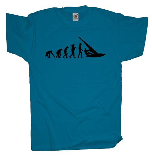 Ma2ca - Evolution - Windsurfer T-Shirt Azure
