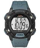 Timex TW4B09400 Herren-Armbanduhr mit Quarz-Uhrwerk, Digitalanzeige und Resin-Uhrenband.
