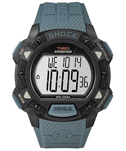 Timex TW4B09400 - Reloj de pulsera para hombre de cuarzo, con esfera digital y correa de resina