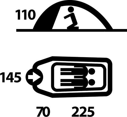 HUSKY Outdoor Extrem Zelt - 3