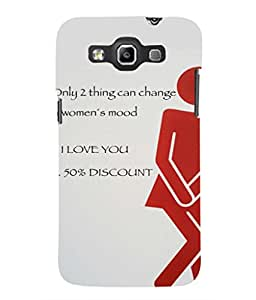 For Samsung Galaxy Win I8550 -Livingfill- Women Mood Quote Printed Designer Slim Light Weight Cover Case For Samsung Galaxy Win I8550 (A Beautiful One of the Best Design with a Classic Theme & A Stylish, Trendy and Premium Appeal/Quality) (Red & Green & Black & Yellow & Other)