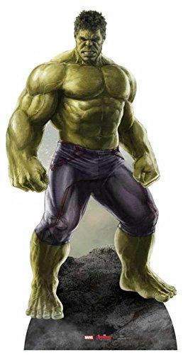 Edad de Los Vengadores de ultrón Hulk cartón - 190 cm