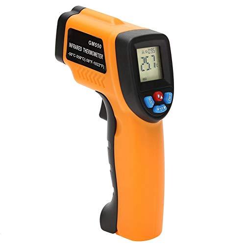 Bogget gm550-50 ~ 550 ° c termometro digitale a infrarossi schermo lcd industriale acquario senza contatto termometro laser termometro termometro esterno