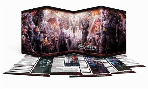 Shadowrun Sichtschirm-Pack (4-seitig im Hardcover) (Schirm Tief)