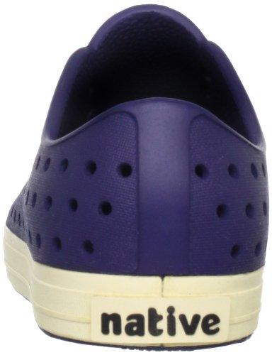 Native Shoes Jefferson Child, Espadrilles mixte enfant bleu foncé (regatta blue/bone white)