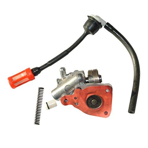 Maso 10/mm carburant Primer ampoule Pompe /à main /à essence Diesel gas amor/çage non retour de voiture Noir
