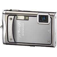 """Olympus  TOUGH-8000 Appareil photo compact numérique 12 Mpix Zoom Optique 3,6x Ecran LCD 2,7"""" Etanche et anti-choc Argent"""