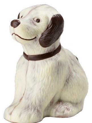 03#110519 Schokoladen Tiere, Muttertag, Hund, 150 gr. Bello, Geschenke,Tierfreund, Schokolade, NEU, Geschenk -
