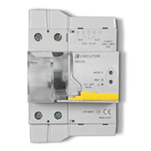 Circutor rec3 - Interruptor diferencial autorrearmable rec3-2p-63-30m
