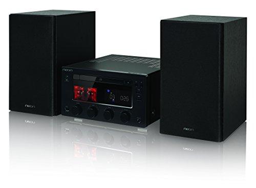 NEON MTB980D - Kompakt Anlage - Röhrenverstärker - 2x75W - CD Micro Hi-Fi System-DAB+/FM-Bluetooth