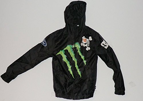 DC Shoes Monster Energy Subaru Ken Block Ford Windjacke JackeFall 2010 (SMALL) Block Hoody