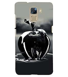 PRINTSHOPPII APPLE Back Case Cover for Huawei Honor 7