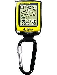 [Lad Weather]Orologio American Sensor con moschettone Altimetro/Barometro/Bussola digitale/Previsioni meteo/ Igrometro/Termometro Arrampicata/Corsa/Escursioni/Attività all'aperto/Sport