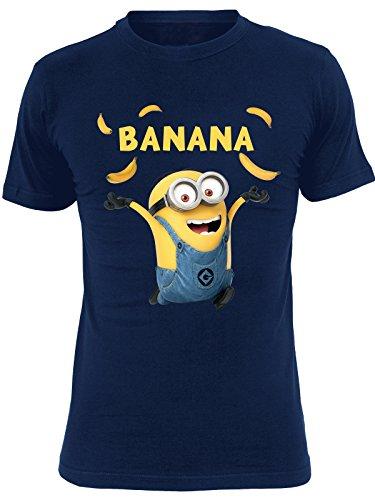 MINIONS Banana T-Shirt Navy S