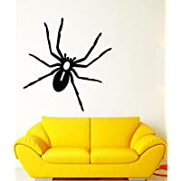 Vinyl Wall Decal Cartoon Spider Insect Halloween Room Decoration Stickers