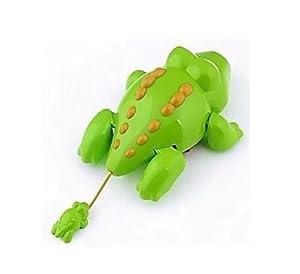 1 PC New Born Babies Swim Turtle Wound-up Chain Small Animal Bath Toy Color Random